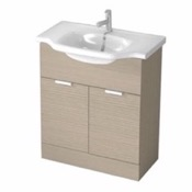 Bathroom Vanity 32 Inch Floor Standing Larch Canapa Vanity Cabinet With Fitted Sink NC03 ARCOM NC03