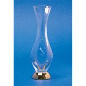 Vase Tall Clear Crystal Glass Bathroom Vase Windisch 61475D