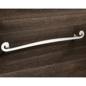 Towel Bar 24 Inch Round Chrome Towel Holder Gedy 3321-60-13