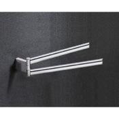 Swivel Towel Bar 14 Inch Chrome Double Arm Swivel Towel Bar Gedy 5523-13