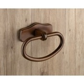 Towel Ring Classic Wood Towel Ring Gedy 8170-95