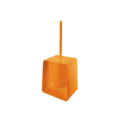 Toilet Brush Square Orange Toilet Brush Holder Gedy 1033-P4