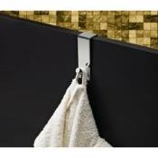 Bathroom Hook Chrome Over Door Hook Gedy 2125-13