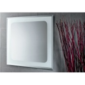 Vanity Mirror 28 x 28 Inch Square Vanity Mirror Gedy 2596