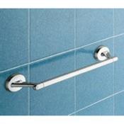 Towel Bar Contemporary Chrome 18 inch Towel Bar Gedy 3021-45-13