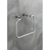Towel Ring Satin Nickel Towel Ring Gedy 3170-40