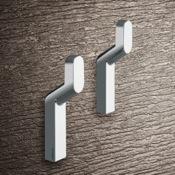 Bathroom Hook Pair Of Chrome Hook(s) Gedy 3527-13