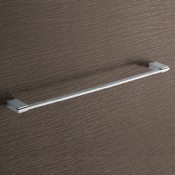 Towel Bar Square 24 Inch Polished Chrome Towel Bar Gedy 3821-60-13