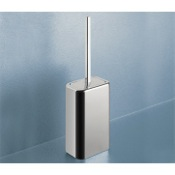 Toilet Brush Polished Chrome Toilet Brush Holder Gedy 4333-13
