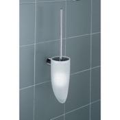 Toilet Brush Wall Mounted White Toilet Brush Holder Gedy 4633-03-02