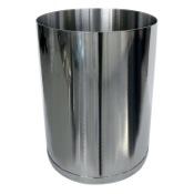 Waste Basket Round Stainless 1.74 Gal Waste Basket Gedy 5209-13