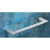 Towel Bar Square 18 Inch Polished Chrome Towel Bar Gedy 5721-45-13
