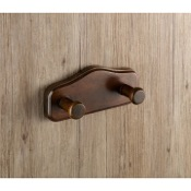 Bathroom Hook Wood Double Hook Gedy 8126-95