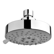 Chrome Shower Head With Five Functions