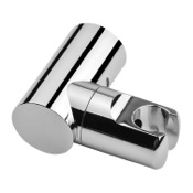 Hand Held Shower Bracket Chrome ABS Shower Holder With Adjustable Fastening Gedy A001077