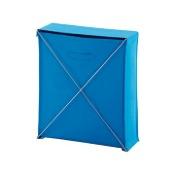 Laundry Basket Rectangle Light Blue Laundry Basket Gedy BI38-11