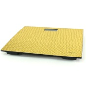 Scale Square Gold Electronic Bathroom Scale Gedy 6790-87