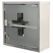 Medicine Cabinet Stainless Steel Medicine Cabinet Finished in Polished Chrome Gedy J035-13