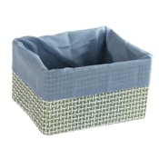 Storage Basket Square Storage Basket in Grey or Moka Gedy LA07