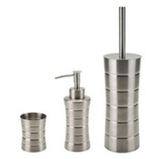 Bathroom Accessory Set Free Standing Stainless Steel Hardware Set Gedy NAS280