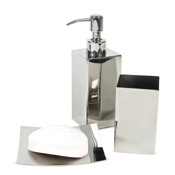 Nemesia Polished Chrome Bathroom Accessory Set