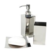 nemesia polished chrome bathroom accessory set - Bathroom Accessories Luxury