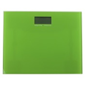 Scale Square Green Electronic Bathroom Scale Gedy RA90-04