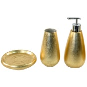 Bathroom Accessory Set Gold or Silver 3 Piece Bathroom Accessory Set, SO280 Gedy SO280