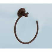 Towel Ring Vintage Moka Towel Ring Gedy IB70-29