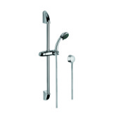 Handheld Showerhead Chrome Shower Solution with Hand Shower, Sliding Rail and Water Connection Gedy SUP1044
