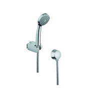 Handheld Showerhead Hand Shower in Chromed with Hose and Water Connection Gedy SUP1065
