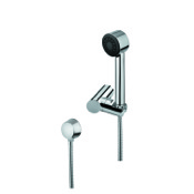 Handheld Showerhead Chrome Hand Shower with Shower Holder and Water Connection Gedy SUP1072