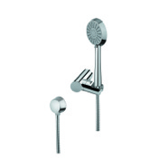 Handheld Showerhead Hand Shower, Shower Bracket, and Water Connection Gedy SUP1077
