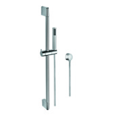 Handheld Showerhead Hand Shower, Sliding Rail and Water Connection In Chrome Gedy SUP1094