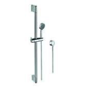 Handheld Showerhead Hand Shower, Sliding Rail and Water Connection In Chrome Gedy SUP1096