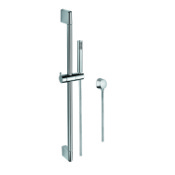 Handheld Showerhead Sliding Rail, Hand Shower, and Water Connection in Chrome Gedy SUP1100