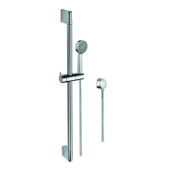 Handheld Showerhead Chrome Hand Shower, Water Connection, and Sliding Rail Gedy SUP1106