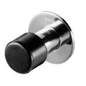 Doorstop Chrome 2 Inch Bathroom Doorstop Geesa 1121