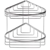 Shower Basket Chrome 2 Tier (Double) Shower Basket Geesa 183