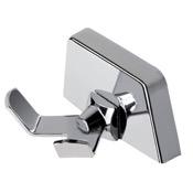 Bathroom Hook Chrome Robe or Towel Double Hook Geesa 5254