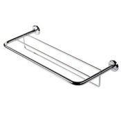 Train Rack Chrome Towel Rack or Towel Shelf with Towel Bar Geesa 5352