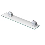 Bathroom Shelf Rectangle Wall Mounted Chrome Bathroom Shelf Geesa 2401-02