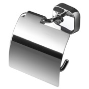 Toilet Paper Holder Round Wall Mounted Chrome Toilet Paper Holder Geesa 2408-02