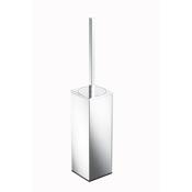 Toilet Brush Rectangle Free Standing Chrome Toilet Brush Geesa 3511-02