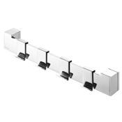 Bathroom Hook Quadruple Chrome Bathroom Hooks With Mounting Bar Geesa 3523-02