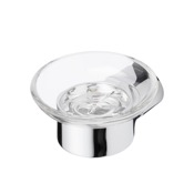 Soap Dish Round Wall Mounted Chrome Soap Dish Geesa 4503-02