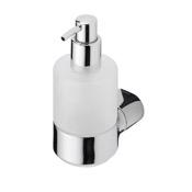 Soap Dispenser Round Wall Mounted Chrome Soap Dispenser Geesa 4516-02