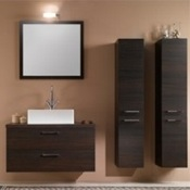 Bathroom Vanity Contemporary Retangular Vanity Set A14 Iotti A14