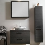 Bathroom Vanity Modern Vanity Set with Square Mirror A15 Iotti A15
