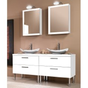 Bathroom Vanity 61 Inch Bathroom Vanity Set Iotti A17